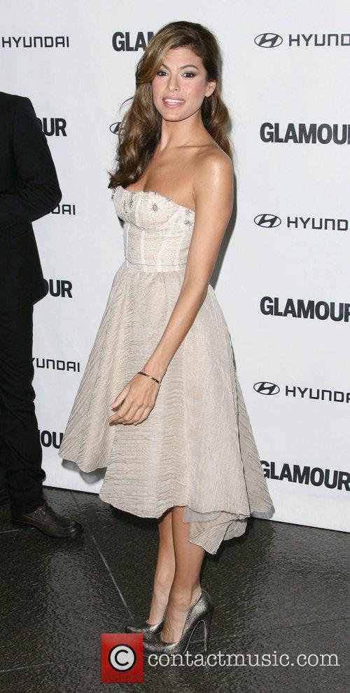 Eva Mendes 5th Anniversary of Glamour Reel Moments...