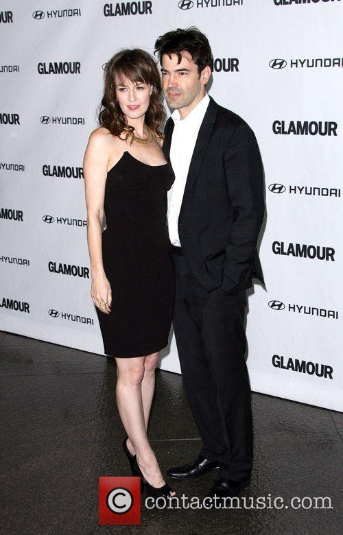 Rosemarie DeWitt and Ron Livingston 5th Anniversary of...