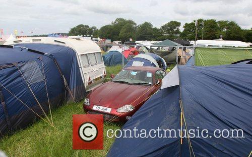 Atmosphere The 2010 Glastonbury Music Festival held at...