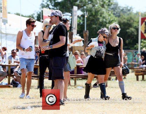 Luke Worrall, Kelly Osbourne and Pixie Geldof The...