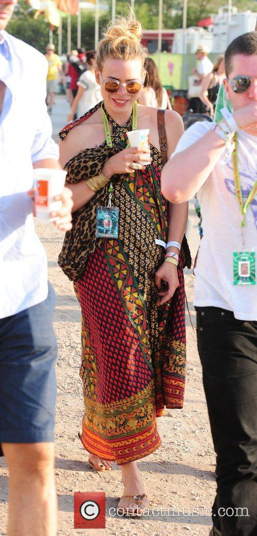 The 2010 Glastonbury Music Festival held at Worthy...