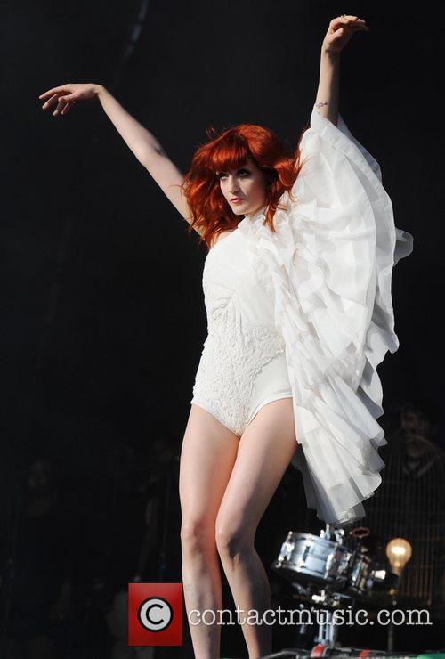Florence and The Machine The 2010 Glastonbury Music...