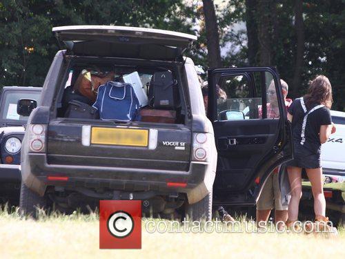 Jamie Hince The 2010 Glastonbury Music Festival held...