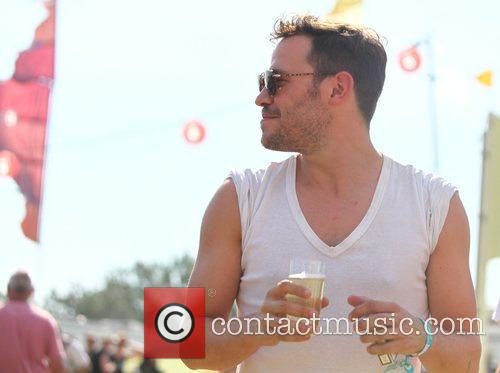 Will Young The 2010 Glastonbury Music Festival held...