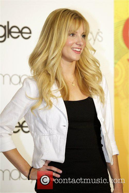 Heather Morris attends the Macy's 'GLEE' Apparel Launch...