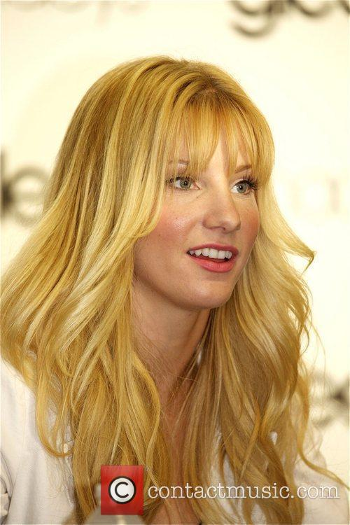 Heather Morris attend the Macy's 'GLEE' Apparel Launch...