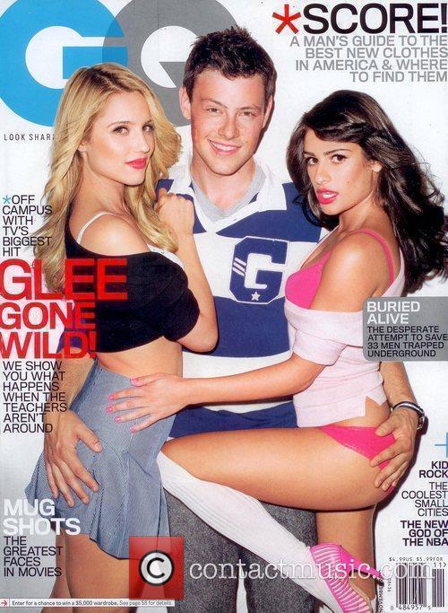 Dianna Agron, Cory Monteith, Gossip Girl, Lea Michele and Madonna 1