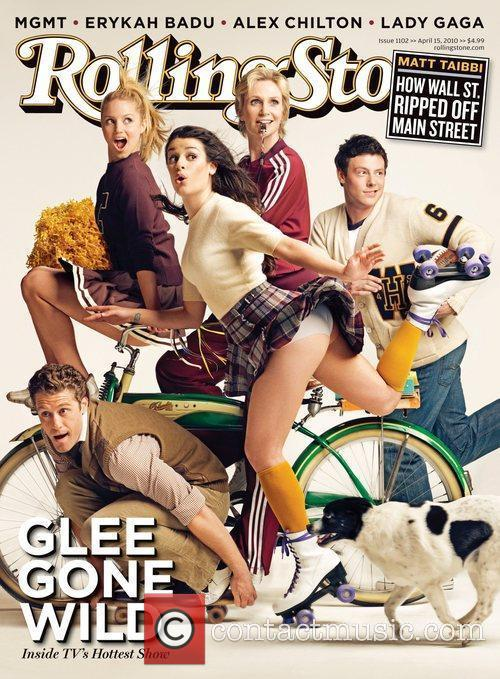 Matthew Morrison and Dianna Agron, Lea Michele, Jane Lynch, Cory Monteith