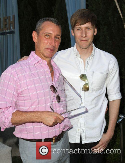 Adam Shankman and Dustin Lance Black 4