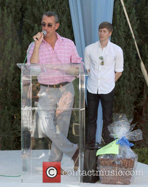 Adam Shankman and Dustin Lance Black 7