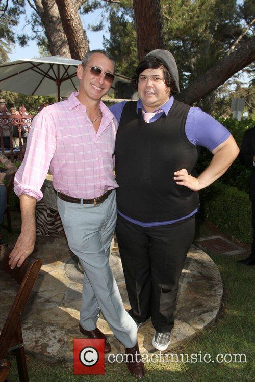 Harvey Guillen and Adam Shankman The 9th Annual...
