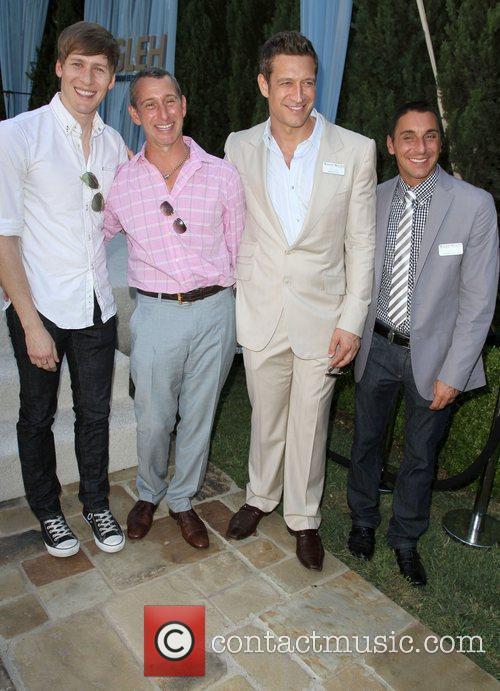 Dustin Lance Black, Adam Shankman and Robert Gant...