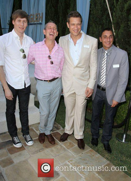 Dustin Lance Black and Adam Shankman 1