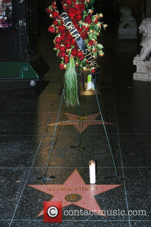 Gloria Stuart, Walk Of Fame