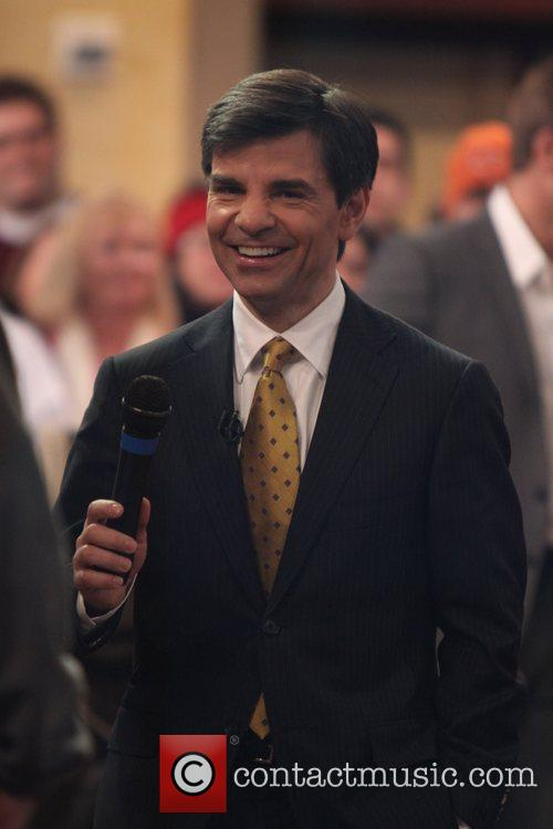 At the ABC Studios for 'Good Morning America'