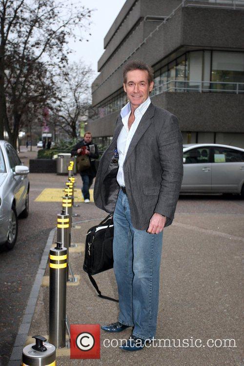 Dr Hilary Jones leaving the London studios London,...
