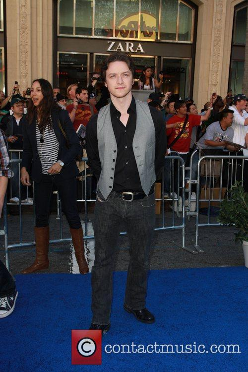 James McAvoy Gnomeo and Juliet World Premiere, held...