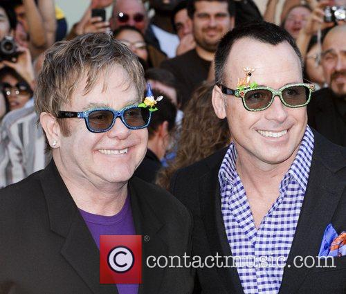 Elton John and David Furnish 1
