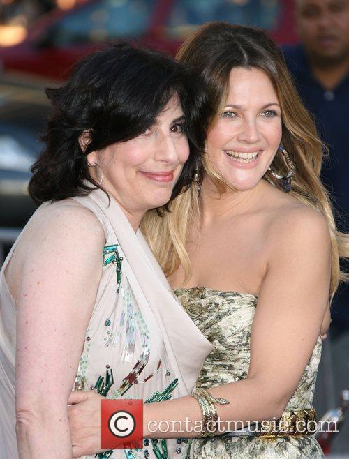 Drew Barrymore and Guest Los Angeles Premiere of...