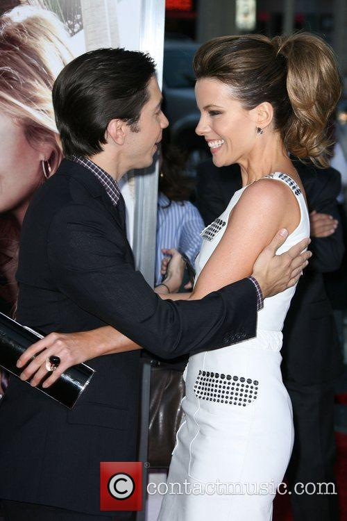 Justin Long and Kate Beckinsale Los Angeles Premiere...