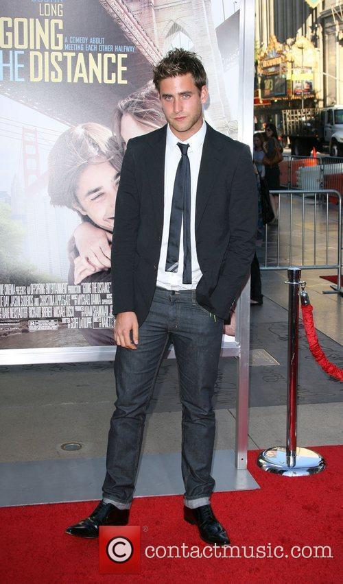 Oliver Jackson-Cohen Los Angeles Premiere of 'Going the...
