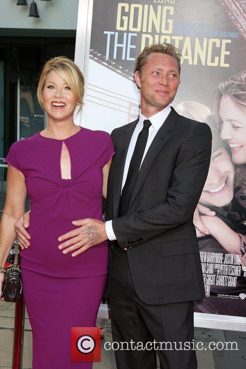 Christina Applegate & Martyn Lenoble Los Angeles Premiere...