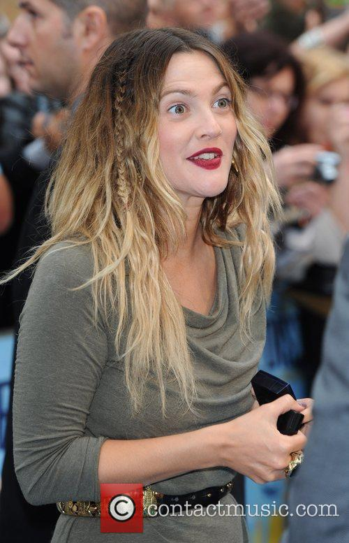 Drew Barrymore The UK premiere of 'Going the...