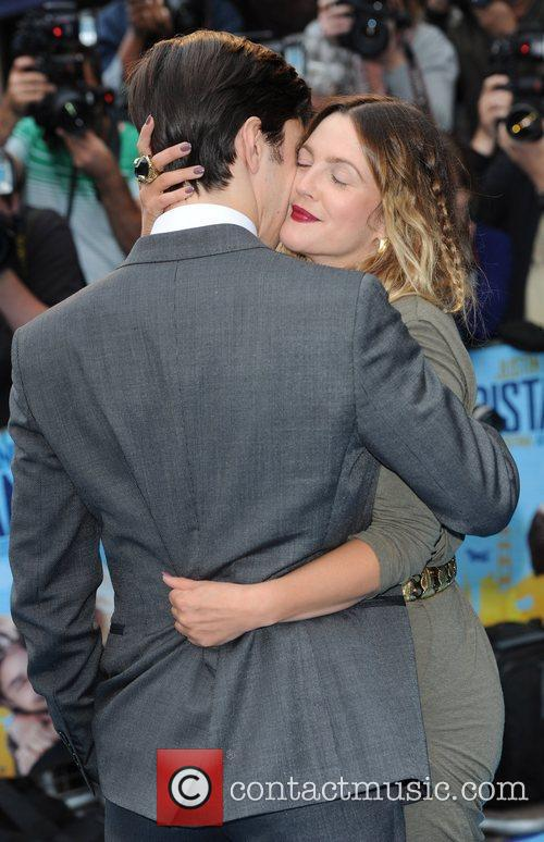 Drew Barrymore, Justin Long The UK premiere of...