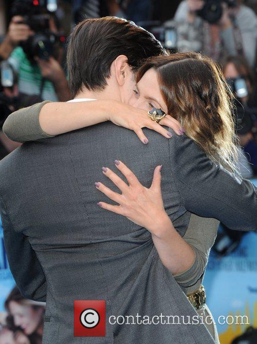 Drew Barrymore and Justin Long The UK premiere...