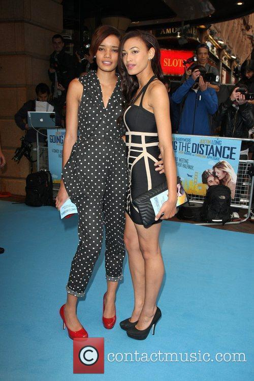 The UK premiere of 'Going the Distance' held...