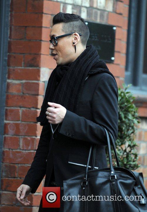 Fashion Stylist/TV Presenter Gok Wan  arrives at...