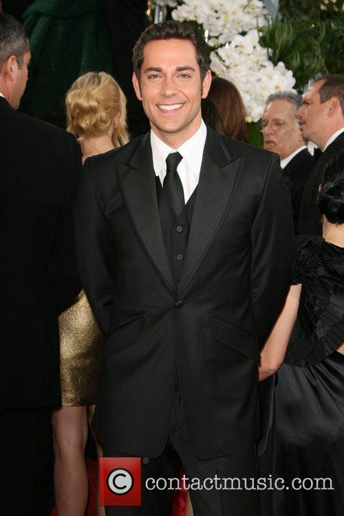 Zachary Levi, Golden Globe Awards, Beverly Hilton Hotel