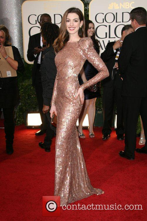 Anne Hathaway 68th Annual Golden Globe Awards. Anne Hathaway and Golden Globe Awards Golden Globe Awards