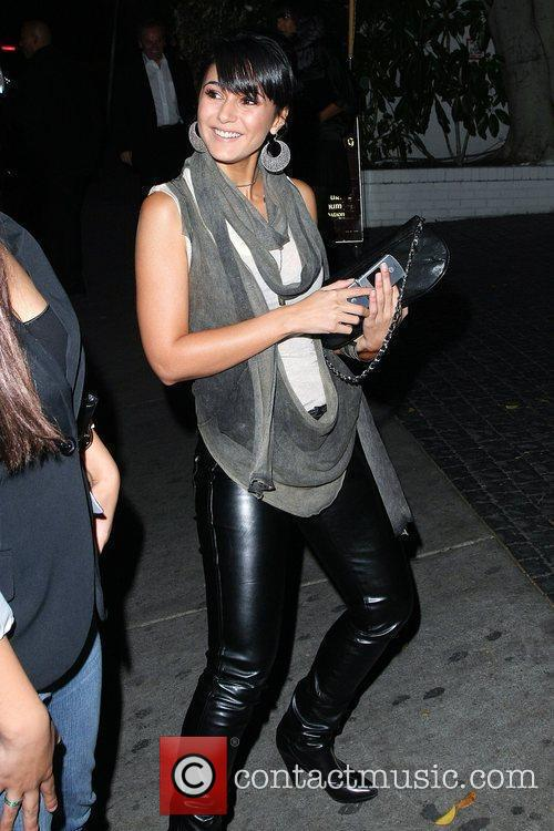 Celebrities arrive at Chateau Marmont for a cocktail...