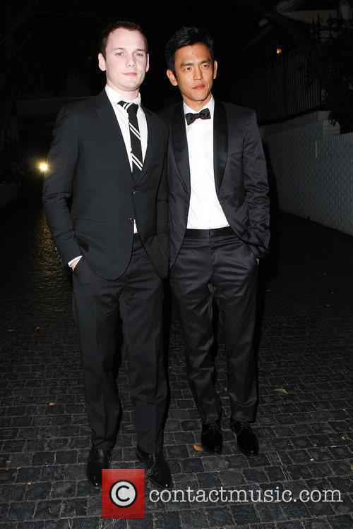 Anton Yelchin and John Cho 2