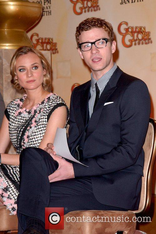 Diane Kruger and Justin Timberlake The 67th Annual...