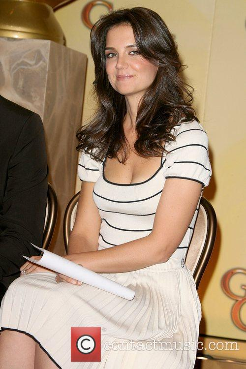 Katie Holmes 68th Annual Golden Globe Nomination announcement,...