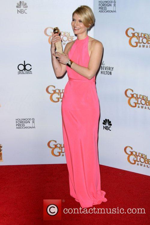Claire Danes, Golden Globe Awards, Beverly Hilton Hotel