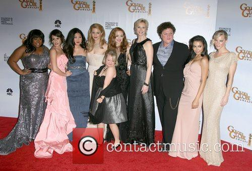 Glee Cast Golden Globes