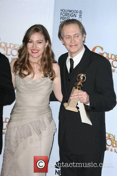 Kelly Mcdonald and Steve Buscemi