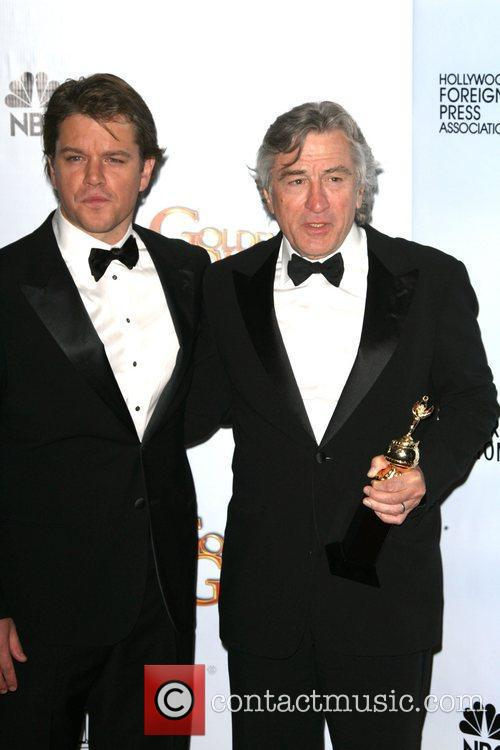 Matt Damon, Golden Globe Awards, Robert De Niro, Beverly Hilton Hotel