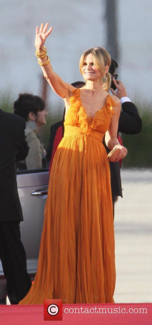Kyra Sedgwick, Golden Globe Awards, Beverly Hilton Hotel