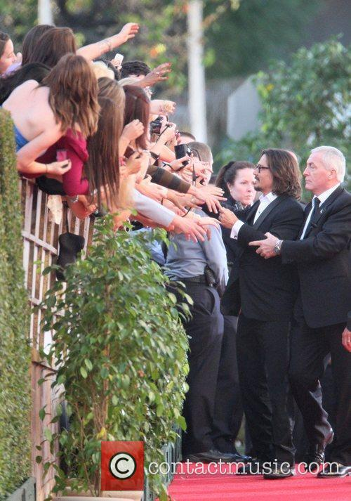 Johnny Depp, Golden Globe Awards