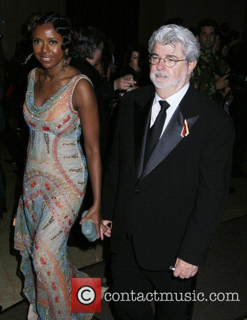Mellody Hobson and George Lucas 8