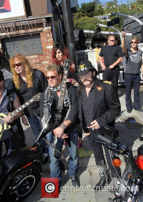 Dave Mustaine, Chris Jericho, Kat Von D and...