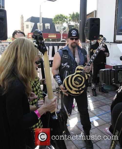 Zakk Wylde of Black Label Society attends the...