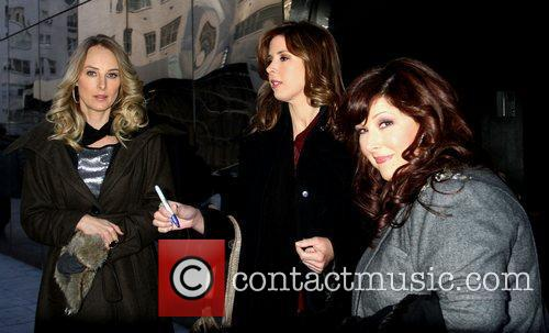 From Wilson Phillips are seen at 'Good Day...