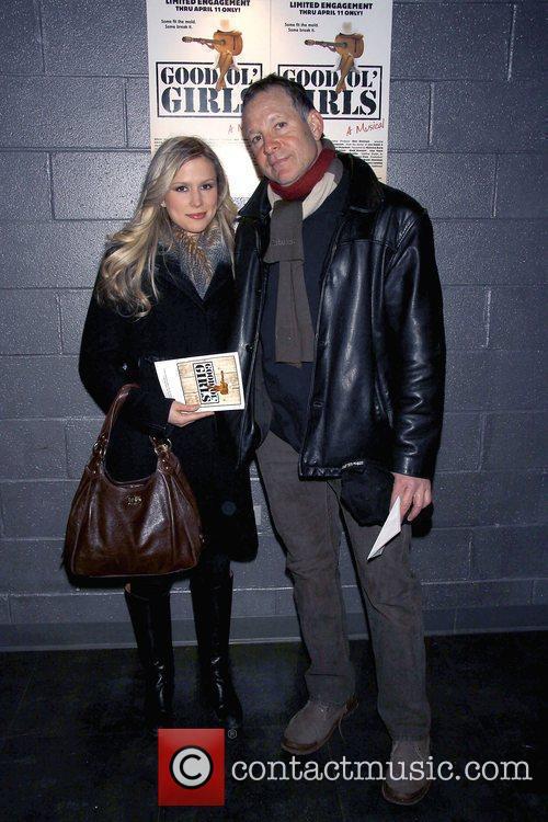 Steve Guttenberg and His Girlfriend Anna Gilligan 1