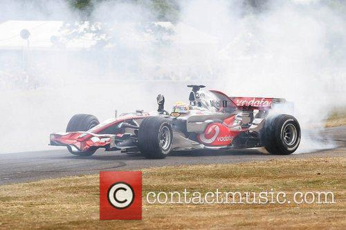 Lewis Hamilton Goodwood Festival of Speed 2010 West...