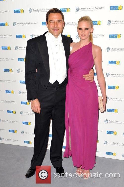 David Walliams and Lara Stone Raisa Gorbachev Foundation...
